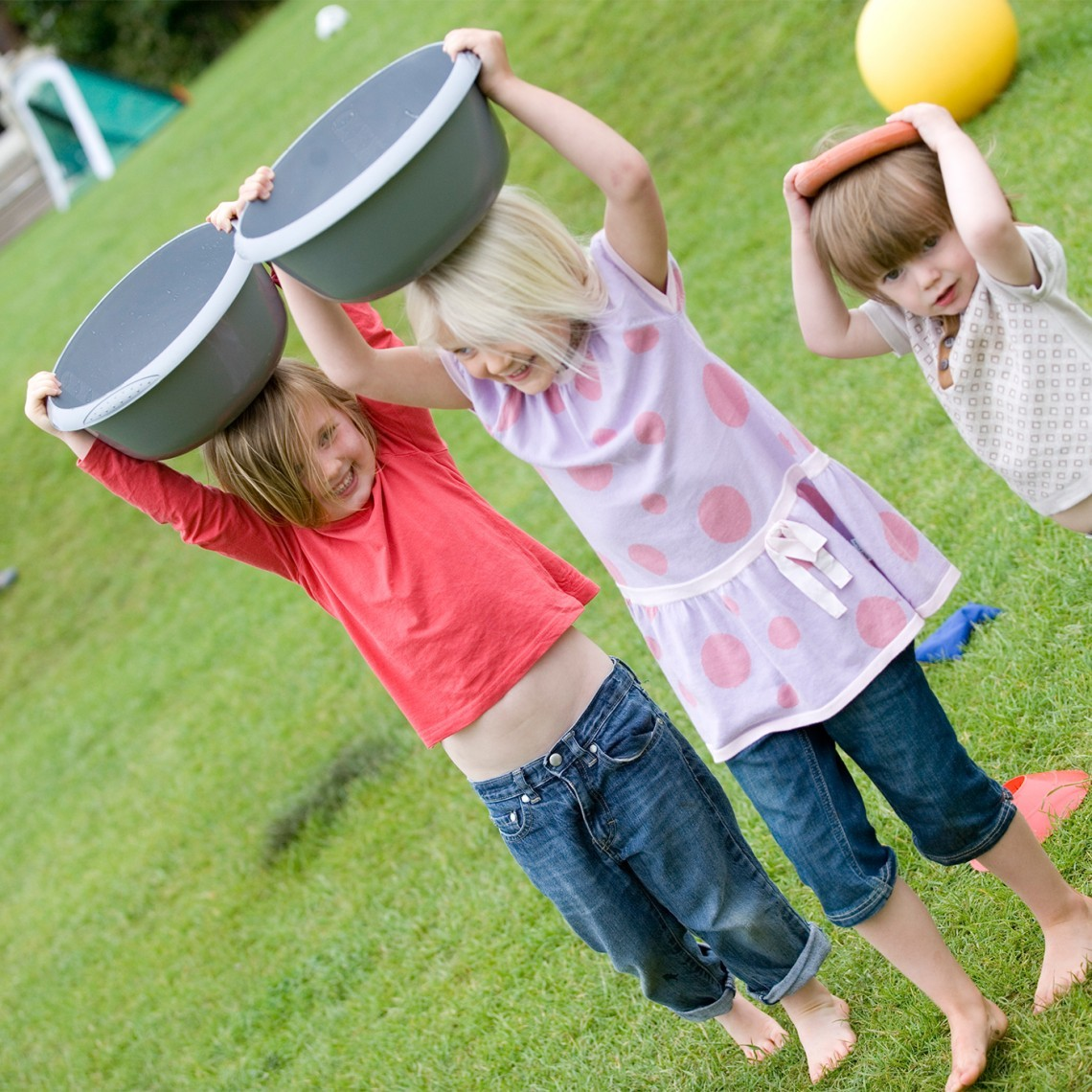 Children taking part in an event at Moonfleet Manor in Dorset