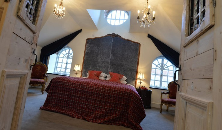 Coach House room at Moonfleet Manor country hotel.