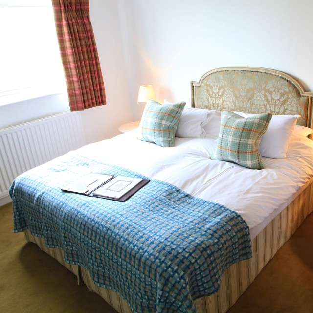 Two-bed family room at the Dorset hotel, Moonfleet Manor